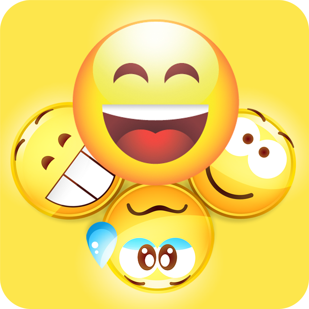 Emoji keyboard for ios 8 color emojisemoticons stickerssmileys app icon biocorpaavc Images